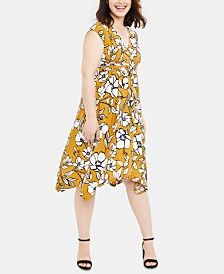 Motherhood Maternity Tie-Front Dress