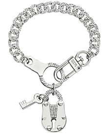 ZAXIE Key to Chic Chain Link Charm Bracelet