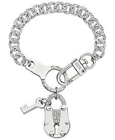 ZAXIE Key to Chic Chain Link Charm Bracelet