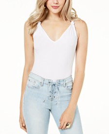 GUESS Ndea Cotton Thong Bodysuit