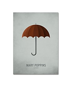 "Christian Jackson 'Mary Poppins' Canvas Art - 14"" x 19"""