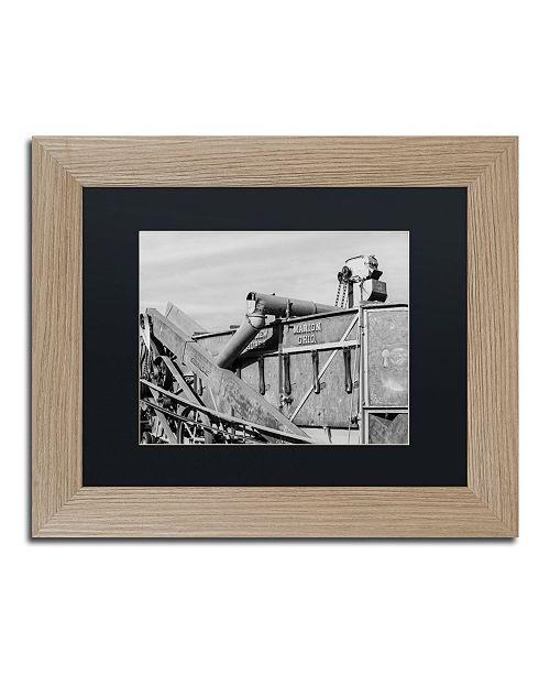 """Trademark Global Jason Shaffer 'Combine' Matted Framed Art - 14"""" x 11"""""""