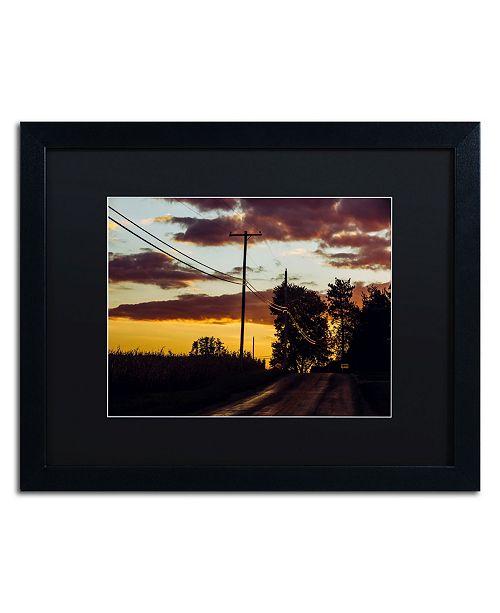 """Trademark Global Jason Shaffer 'Cooper Foster' Matted Framed Art - 20"""" x 16"""""""