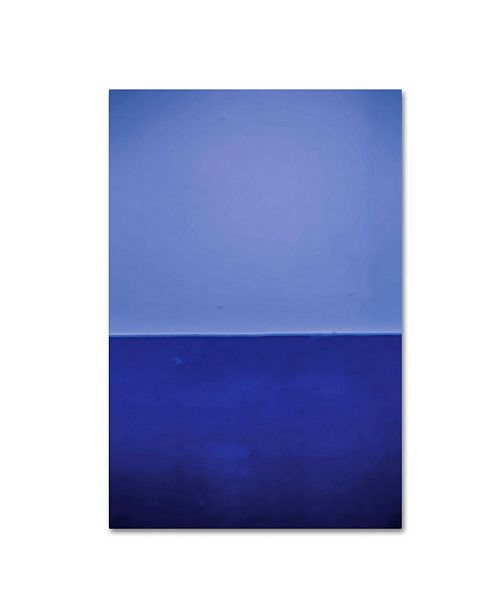 """Trademark Global Claire Doherty 'Silence' Canvas Art - 22"""" x 32"""""""