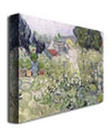 "Vincent van Gogh 'Mademoiselle Gachet at Auvers-sur-Oise' Canvas Art - 32"" x 26"""
