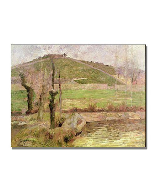 "Trademark Global Paul Gauguin 'Landscape near Pont Aven' Canvas Art - 24"" x 18"""