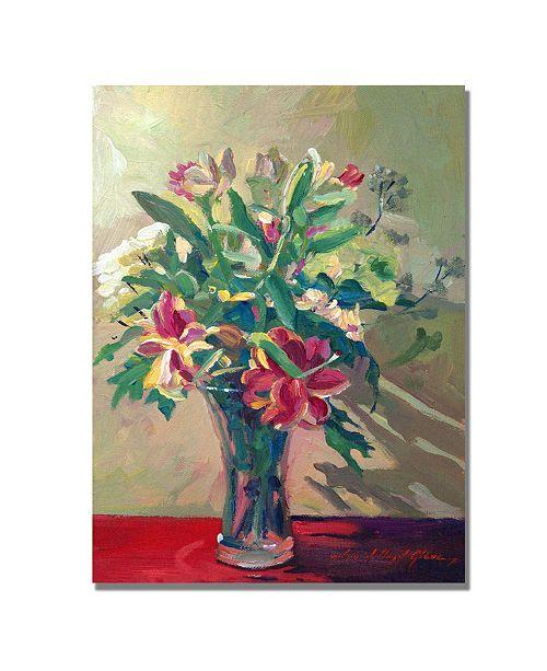 "Trademark Global David Lloyd Glover 'A Glass Full of Spring' Canvas Art - 32"" x 24"""