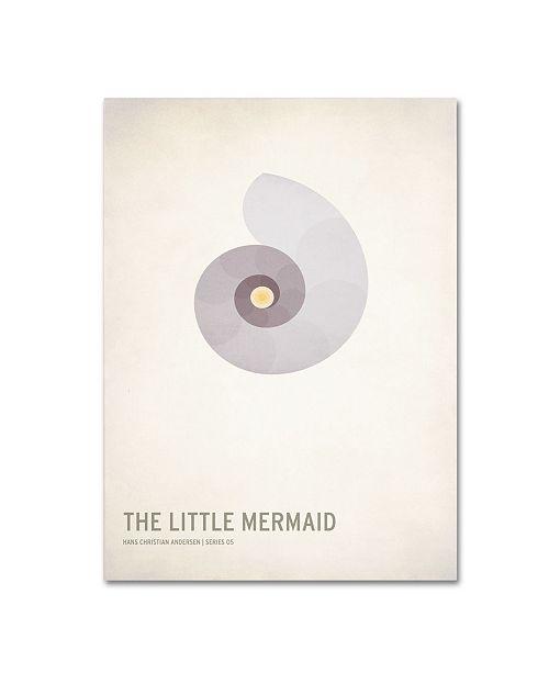 "Trademark Global Christian Jackson 'The Little Mermaid' Canvas Art - 19"" x 14"""