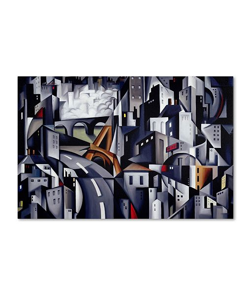 "Trademark Global Catherine Abel 'La Rive Gauche 2002' Canvas Art - 14"" x 19"""