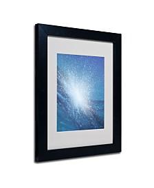 """Alan Byrne 'Sea Picture VI 2008' Matted Framed Art - 14"""" x 11"""""""