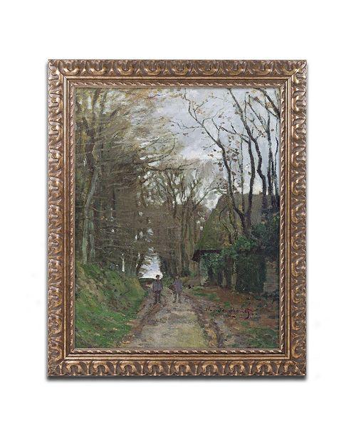 "Trademark Global Monet 'Path in Normandy' Ornate Framed Art - 16"" x 20"""