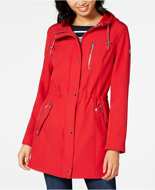 Tommy Hilfiger Zip-Front Hooded Anorak Jacket