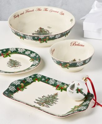 Christmas Tree 2019 Annual Dessert Tray