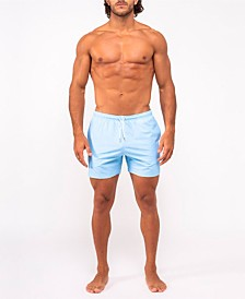 Bermies Classic Blue Swim-Trunk