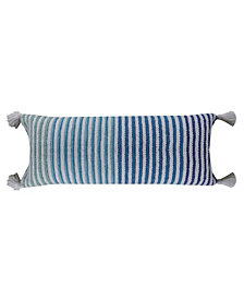 Chicos Home Decorative Throw Pillow for Couch Handloom Woven