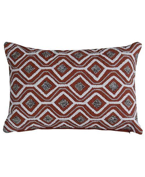 """Chicos Home Unique Zwarte Throw Pillow Cover 20"""" x 20"""""""