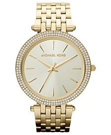 Women's Darci Gold-Tone Stainless Steel Bracelet Watch 39mm MK3191