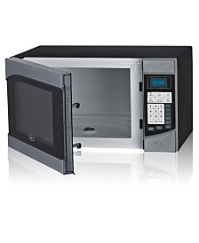 Oster 0.9Cubic Foot 900 Watts, Push Button Counter Top Microwave