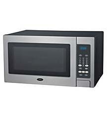 0.9Cubic Foot 900 Watts, Push Button Counter Top Microwave
