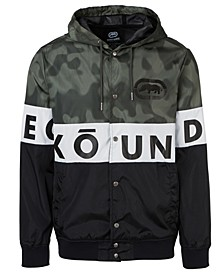 Men's Blocked Varsity Windbreaker