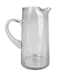 Iris Bubble Glass 70oz pitcher