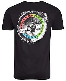 Maui and Sons Men's Rainbow Floater Logo Graphic T-Shirt