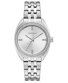 Women's Stainless Steel Bracelet Watch 33mm