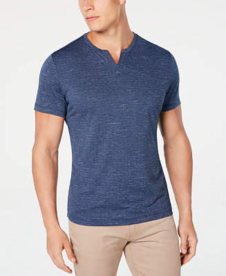 Men's End On End Dot T Shirt, Created For Macy's by General