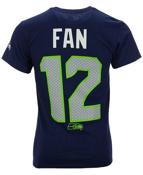 best value 2cb7d 2e648 Men's Fan #12 Seattle Seahawks Eligible Receiver II T-Shirt