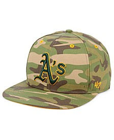 Oakland Athletics Blockade Strapback Cap