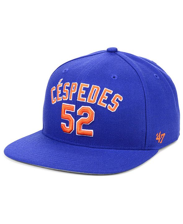 '47 Brand Yoenis Cespedes New York Mets Player Snapback Cap