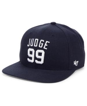 '47 Brand Aaron Judge New York Yankees Player Snapback Cap