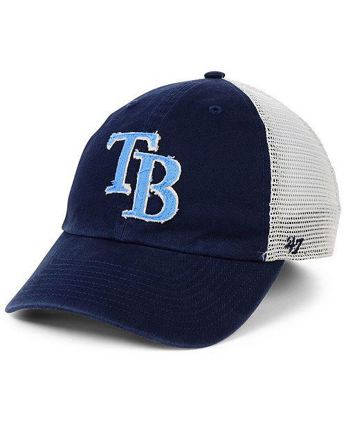'47 Brand Tampa Bay Rays Stamper Mesh CLOSER Cap & Reviews
