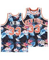 7a93242e1 Mitchell & Ness Men's Patrick Ewing New York Knicks Floral Swingman Jersey