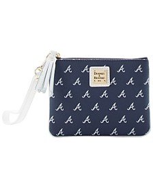 Dooney & Bourke Atlanta Braves Stadium Wristlet