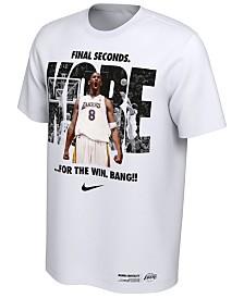 Nike Men's Kobe Bryant Los Angeles Lakers Final Second T-Shirt