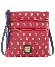 Dooney & Bourke St. Louis Cardinals North South Triple Zip Purse