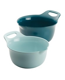 Rachael Ray Tools and Gadgets Nesting 2-Pc. Mixing Bowl Set