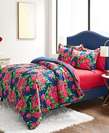 Betsey Johnson Bountiful Bouquet Bed Set, Queen