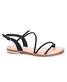 Chinese Laundry Carley Jeweled Flat Sandals