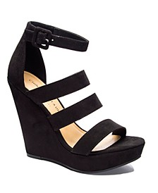 Maneeya Wedge Sandals
