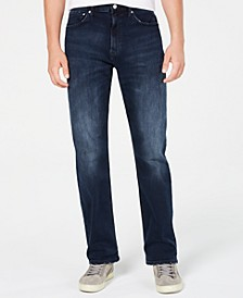 Men's Straight Fit Stretch Jeans