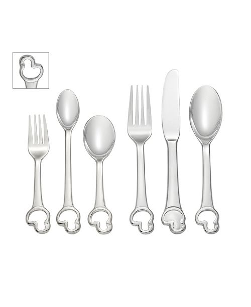 Oneida Duckling 6 Piece Kids Flatware Set