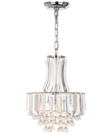 "Modern Crown 1 Light 12.25""D Pendant"