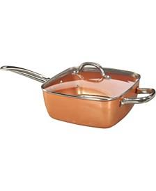 Tayama TCSP-10 Induction Copper Square Pan
