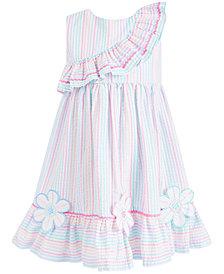 Bonnie Jean Little Girls Striped Seersucker Dress