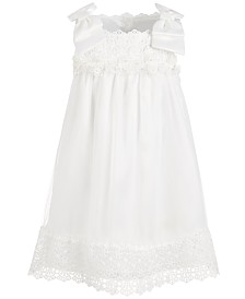 Bonnie Jean Toddler Girls Lace & Chiffon Bow-Shoulder Dress
