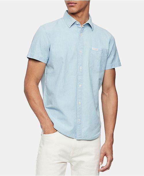 Calvin Klein Jeans Men's Iconic Workwear Shirt