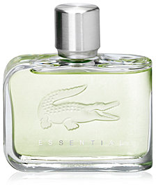 Lacoste Men's Essential Eau de Toilette, 2.5 oz