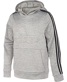 adidas Little Boys Embossed-Logo Hoodie